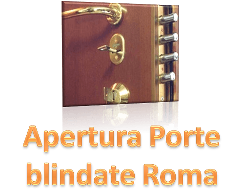 Apertura porte blindate roma fabbro per intervento su - Porte a roma ...